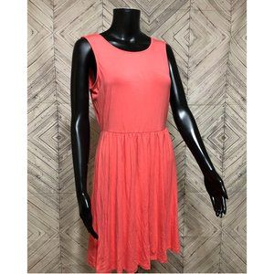 NWT old Navy S coral pink stretch sun dress